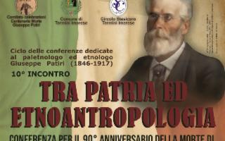 ''Tra Patria ed etnoantropologia''. Pandolfini, Pitrè e Patiri