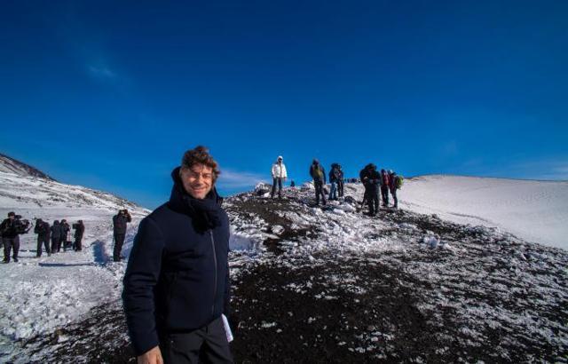 Alberto Angela e la sua ''ultima'' Meraviglia d'Italia, l'Etna