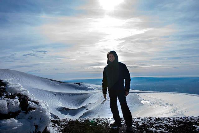 Alberto Angela sull'Etna
