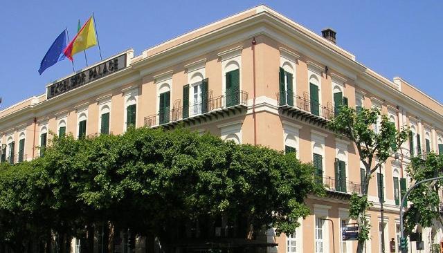 Hotel Excelsior di via Marchese Ugo a Palermo