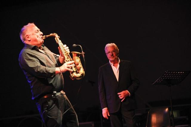 Giancarlo Giannini e Marco Zurzolo
