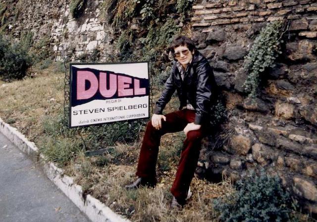"""Un giovane Steven Spielberg regista di """"Duel"""""""