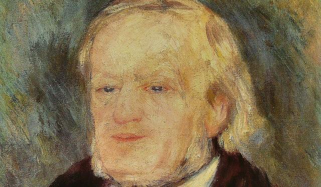 Richard Wagner ritratto da Pierre-Auguste Renoir a Palermo, durante il soggiorno del compositore tedesco.