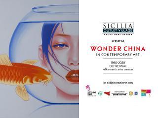 Parata di Stars dell'arte cinese al Sicilia Outlet Village