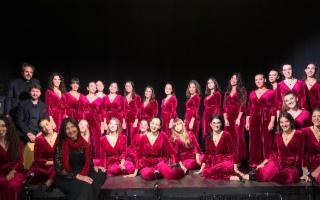 """L'Aeolian Vocal Ensemble in scena con lo spettacolo """"Dal Suono al Gesto"""""""