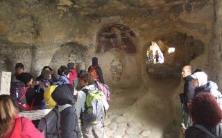Escursione a Cava dei Volaci e Poggio dei Santi