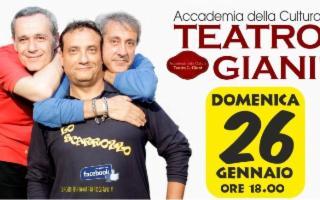 Stagione del Teatro Gianì - Cabaret con ''Lasciare Libero lo Scarrozzo''