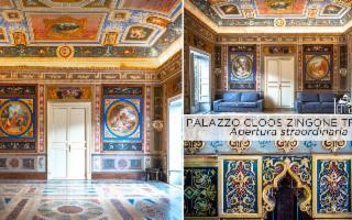 Visite serali a Palazzo Cloos Zingone Trabia