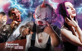 Arriva a Palermo il ''Paranormal Circus''!