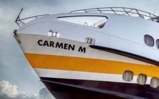 Arriva Carmen, tra Milazzo e le Eolie