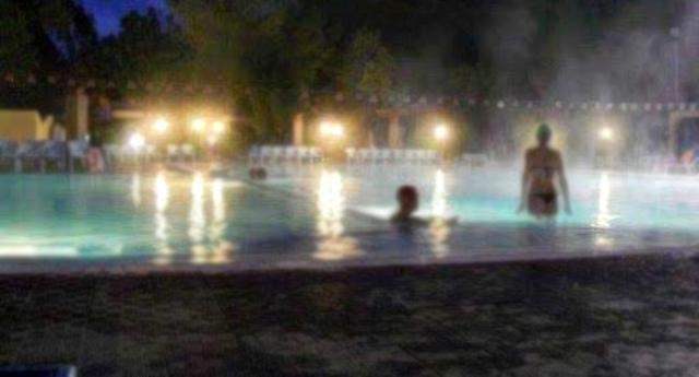 Una coppia alle Terme Acqua Pia di Montevago (AG)