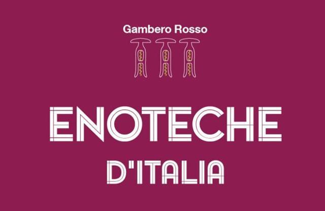 """Prima edizione della """"Guida Enoteche d'Italia 2020"""" del Gambero Rosso"""
