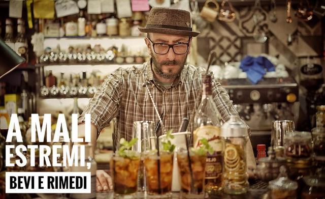 Fabio Torre, bar manager del Circus Cocktail Bar di Catania