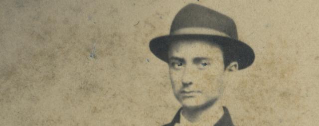 Un giovane Giuseppe Patiri