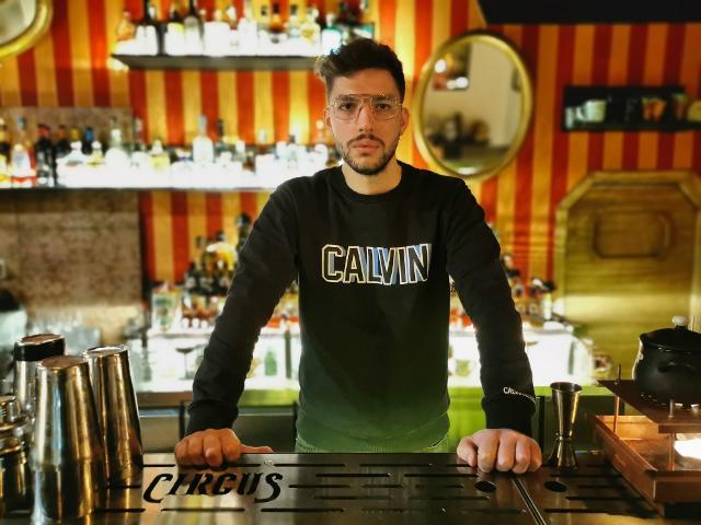 Giovanni Torre, bar manager e proprietario del Circus Cocktail Bar di Catania