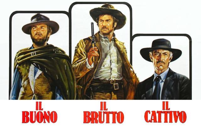 """""""Il Buono, il Brutto, il Cattivo"""" di Sergio Leone (1966)"""