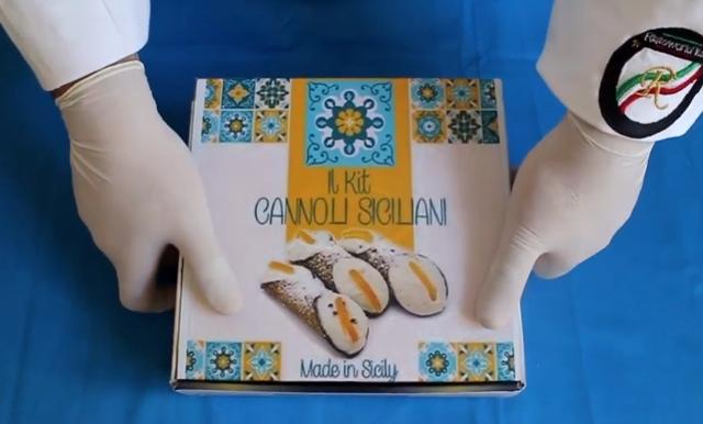 Il Kit Cannoli Siciliani Made in Sicily