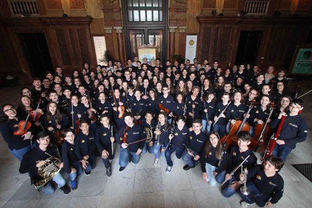 La Massimo Kids Orchestra © Franco Lannino