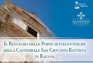 Si mostrano nuove le porte di San Giovanni Battista in Ragusa