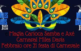 Al Miles Davis Jazz Club, Festa di Carnevale