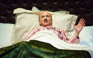 Carlo Buccirosso in ''La rottamazione di un uomo perbene''