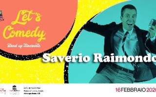 Saverio Raimondo con la sua ironia in ''Let's Comedy''