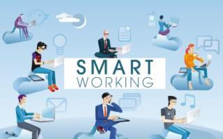 Le aziende ferme per il Coronavirus ripartono con lo smart working