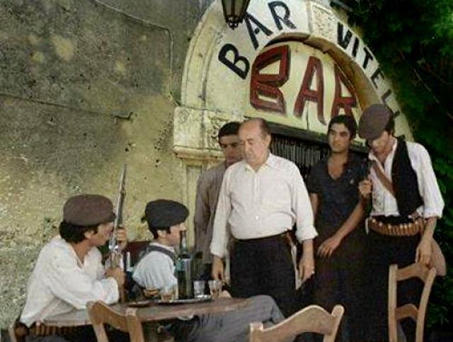 """Il Bar Vitelli di Savoca nel film """"Il Padrino"""" di Francis Ford Coppola"""