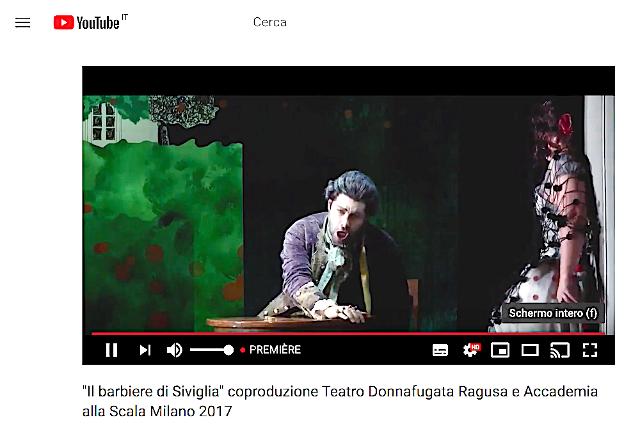 Il Teatro di Donnafugata di Ragusa raggiunge il proprio pubblico a casa!
