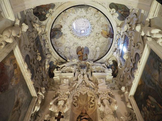 Chiesa di San Giovanni Evangelista, Cappella di Santa Rosalia - ph Giuseppe Anzalone