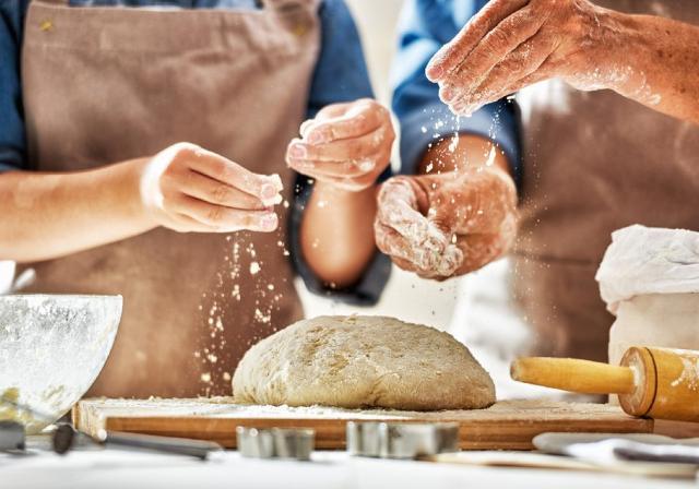 #iorestoacasa e faccio il pane, la scaccia, la brioscia col tuppo...