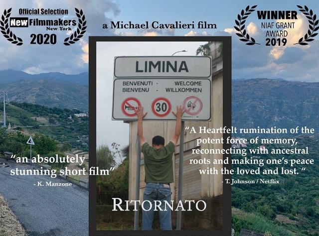 """""""Ritornato"""", film di Michael Cavalieri"""