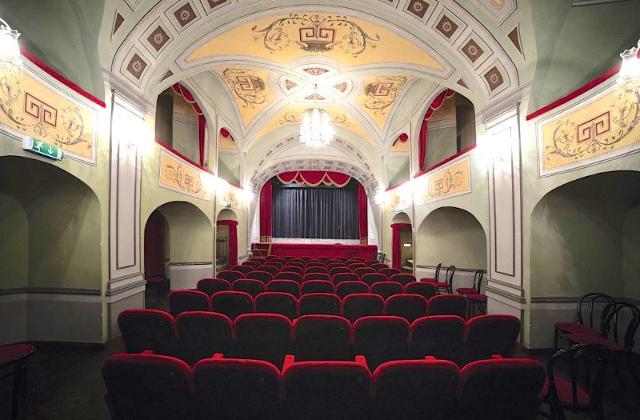 Platea e palco Teatro di Donnafugata