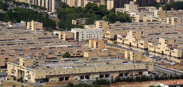 Il quartiere Zen di Palermo progettato da Vittorio Gregotti