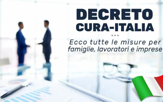Il decreto ''Cura Italia'' punto per punto