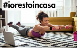 Coronavirus: #iorestoincasa e mi tengo in forma! Boom di attrezzi per il fitness casalingo