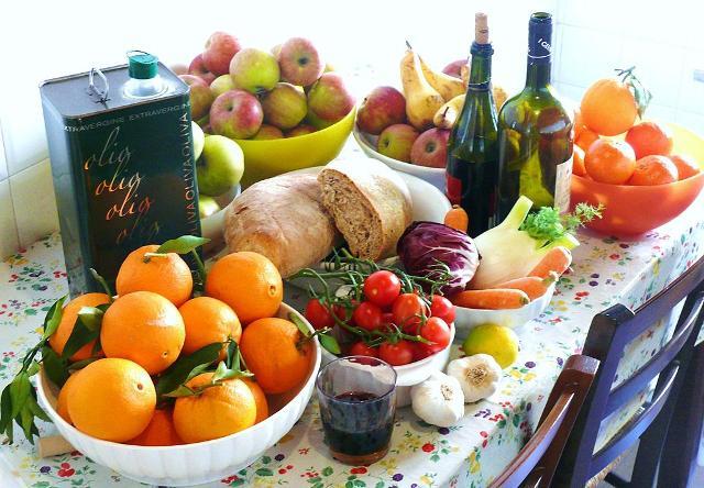 Alimenti della Dieta Mediterranea - ph G.steph.rocket