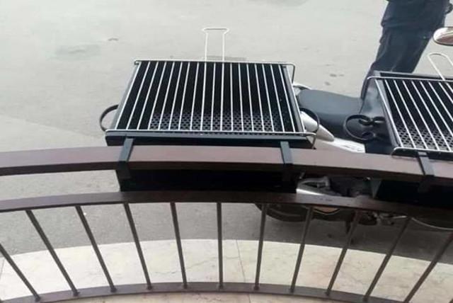 La graticola da balcone artigianale