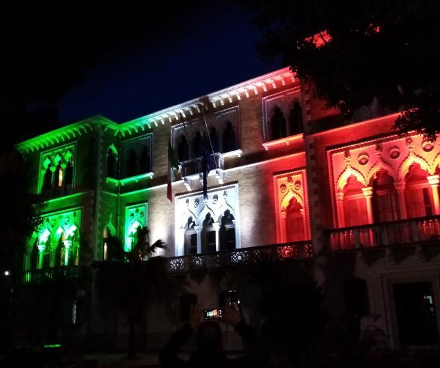 Villa Whitaker, sede operativa della Prefettura di Palermo