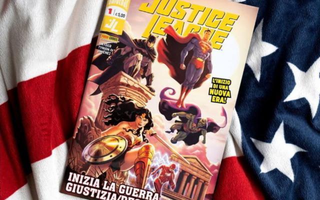 La Justice League atterra nella Valle dei Templi!