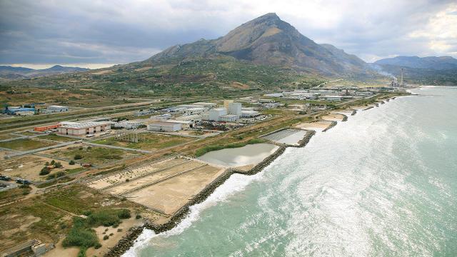 L'area industriale di Termini Imerese