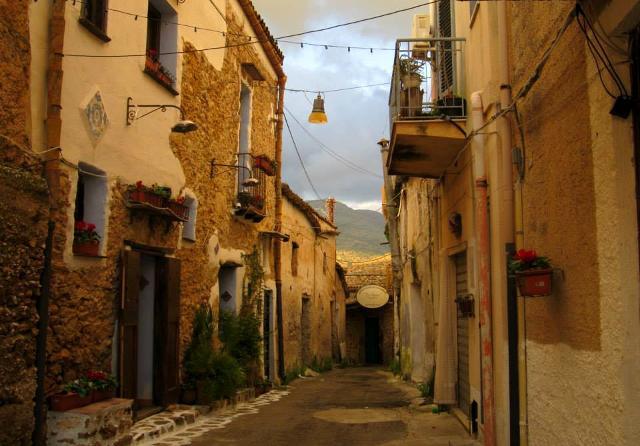 L'Antico Panificio da Za Santa in fondo ad una viuzza di Borgo Parrini