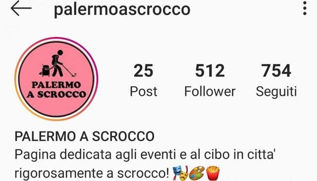 Su Instagram ''Palermo a scrocco'', la città da vivere gratis