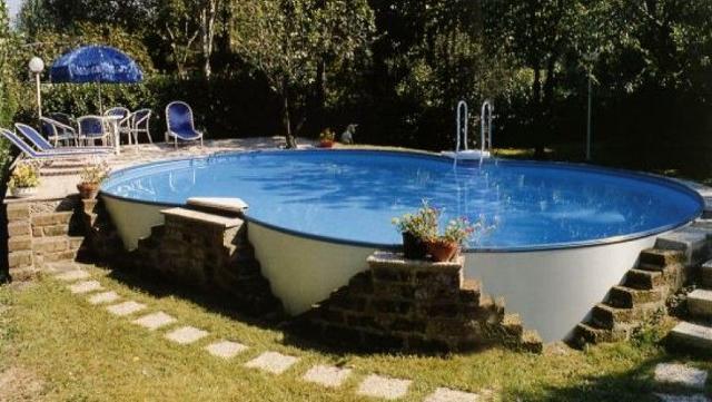 Il costo (medio) di una piscina...