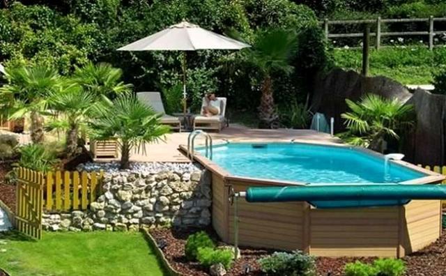 Una soluzione economica è rappresentata dalle piscine fuori terra...