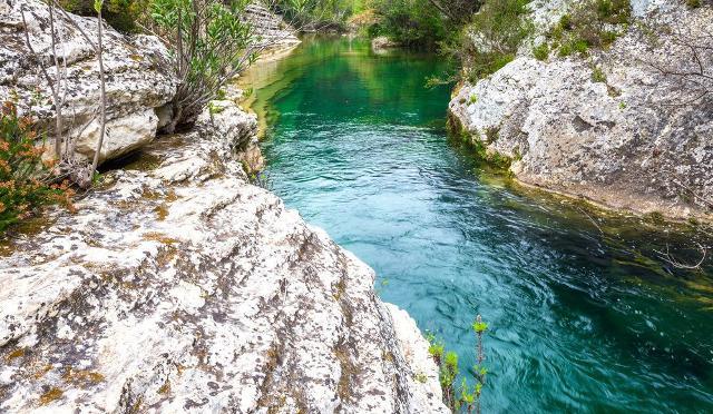 Uno scorcio del fiume Cassibile