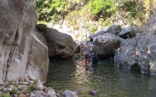 Trekking fluviale al Mulino di Caronia