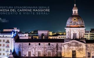 Apertura serale della Chiesa del Carmine Maggiore e concerto del Trio Benedetto Ciringione