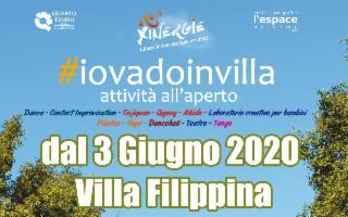 #IoVadoinVilla: le attività all'aperto di Villa Filippina