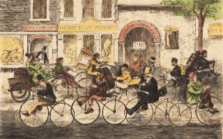 Dal brevetto del Velocipede all'aumento del bike sharing a Palermo…